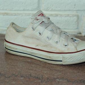White Converse Women's size 5.5